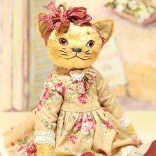 Авторская кошка Маха,цена до конца недели