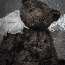 Шикарный авторский медведь из люксового мохера