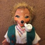 Кукла ГДР ежик мекки