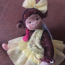 Авторская позитивная маленькая обезьянка Моня, последняя цена