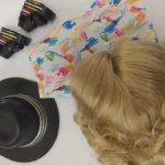 Лот одежды Creatable World+парик