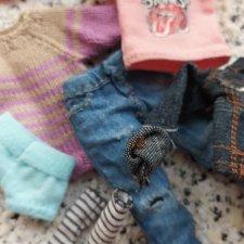 Лот одежды для кукол  1:12