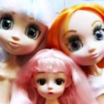 Лот Шарнирных кукол Shibajuku, Баболи Baboliy