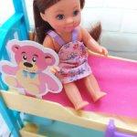 Кукла Еви с двухэтажной кроватью