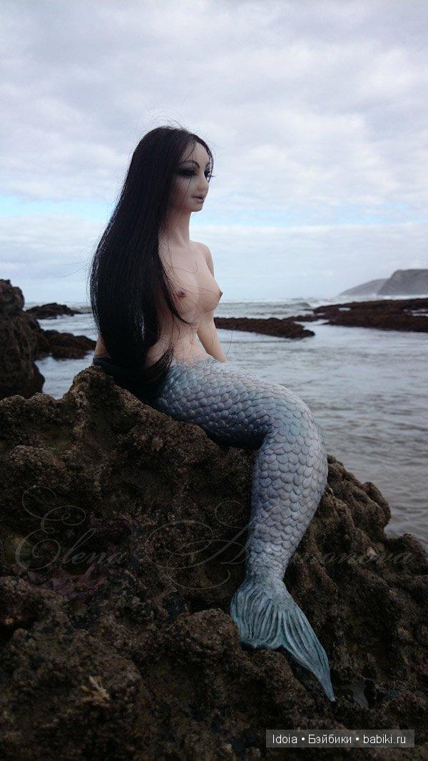 Елена Артамонова. Кукла-русалка из силикона