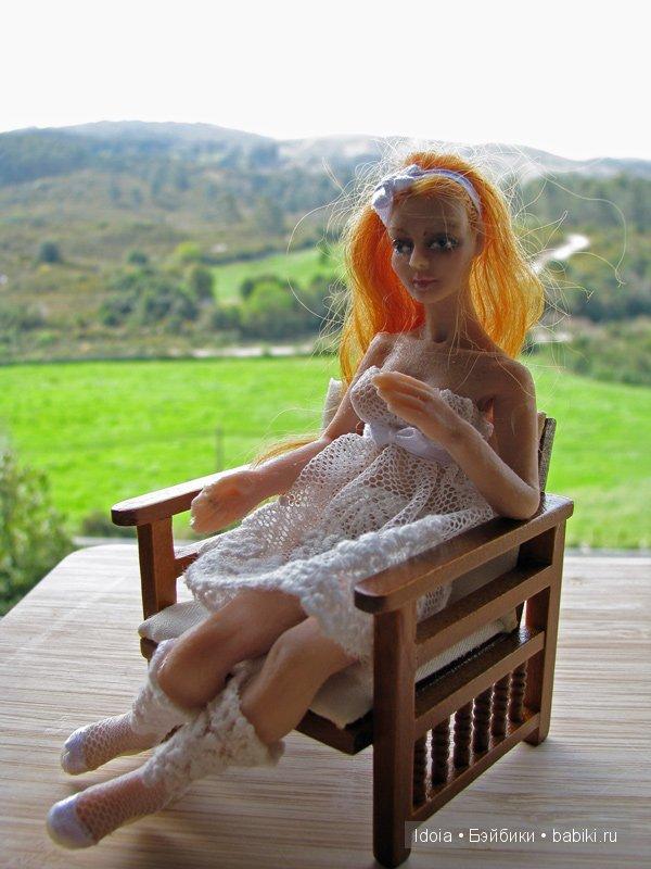 Авторская кукла из силикона. Автор - Елена Артамонова