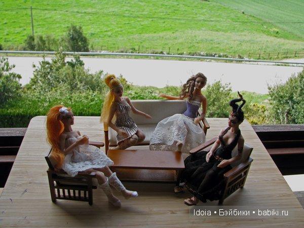 Куклы для кукольной миниатюры масштаба 1:12