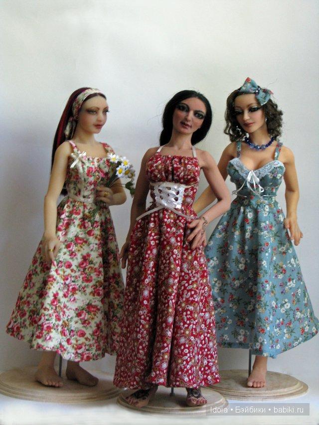 Авторские куклы Елены Артамоновой