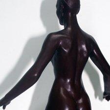 Мастер-модель бесшовной силиконовой  куклы в масштабе 1:6. Elena Artamonova Dolls