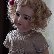 Комплект для антикварной куклы или реплики ростом 65-70 см.