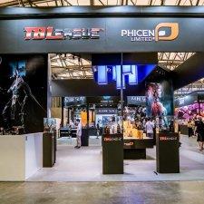 TBLeague Phicen/Фицен на выставке В Шанхае