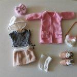 Аутфит, одежда для куклы BJD, рост 25 см
