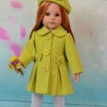 Весенние пальтишки для кукол Готц и не только. На заказ.