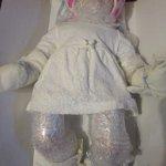 Упаковка фарфоровой куклы