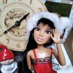 Шарнирная кукла Лив
