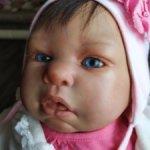 Реборн девочка на базе куклы Эштона Дрейка