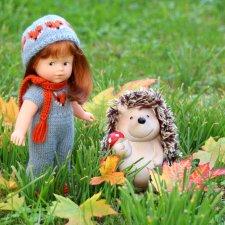 Осень с мини Королинкой. Одежда своими руками