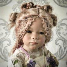 Нежный ангелочек  Лунна от Annette Himstedt