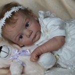 Мое маленькое солнышко Аделина! Кукла реборн Шепелевой Людмилы