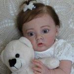 Маленькая Миланочка! Кукла реборн Шепелевой Людмилы