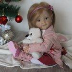 Моя новая девочка Мила! Кукла реборн Шепелевой Людмилы