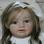 Прототип Sophia by Jannie de Lange. Кукла реборн Шепелевой Людмилы