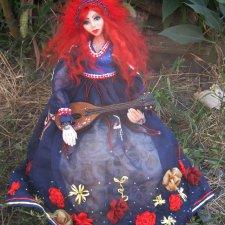 Музыкальная Эйла, авторская кукла Мироненко Аллы