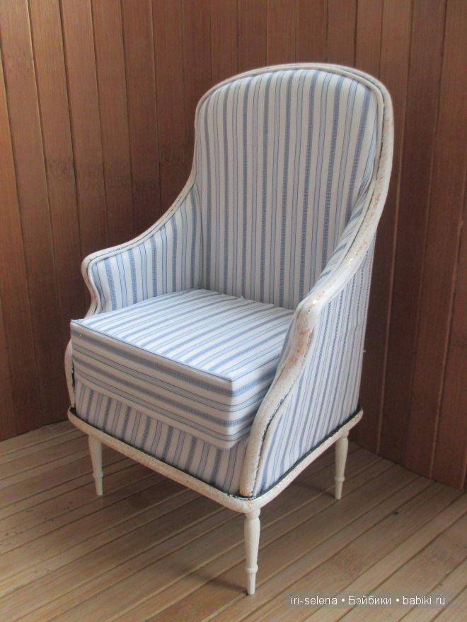 """Кресло в стиле """"прованс"""" для кукол от 26 до 32"""