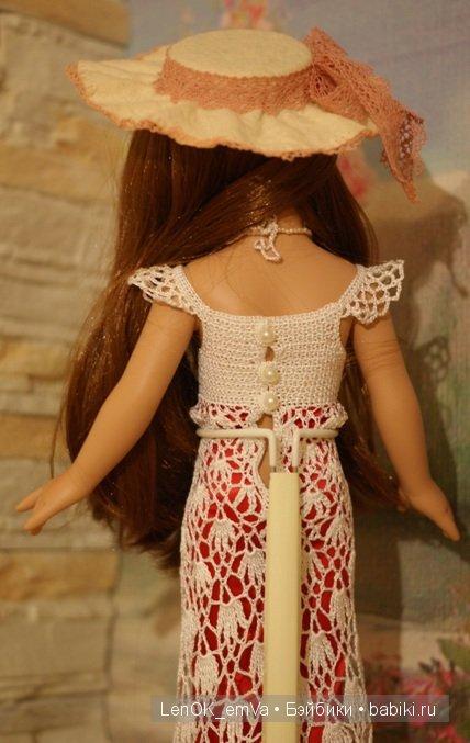 платье сзади