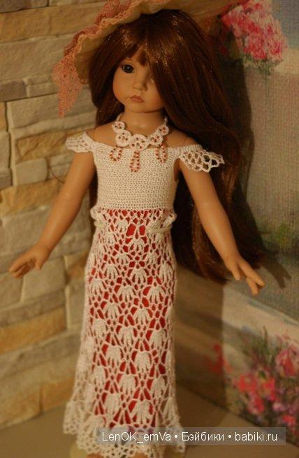 куколка в платье
