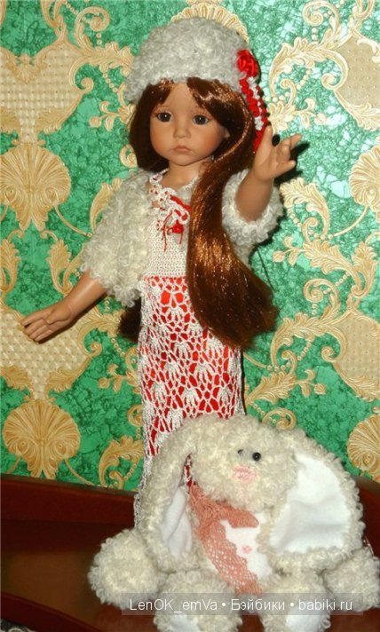 Нарядный комплект для куклы от Линды Рик