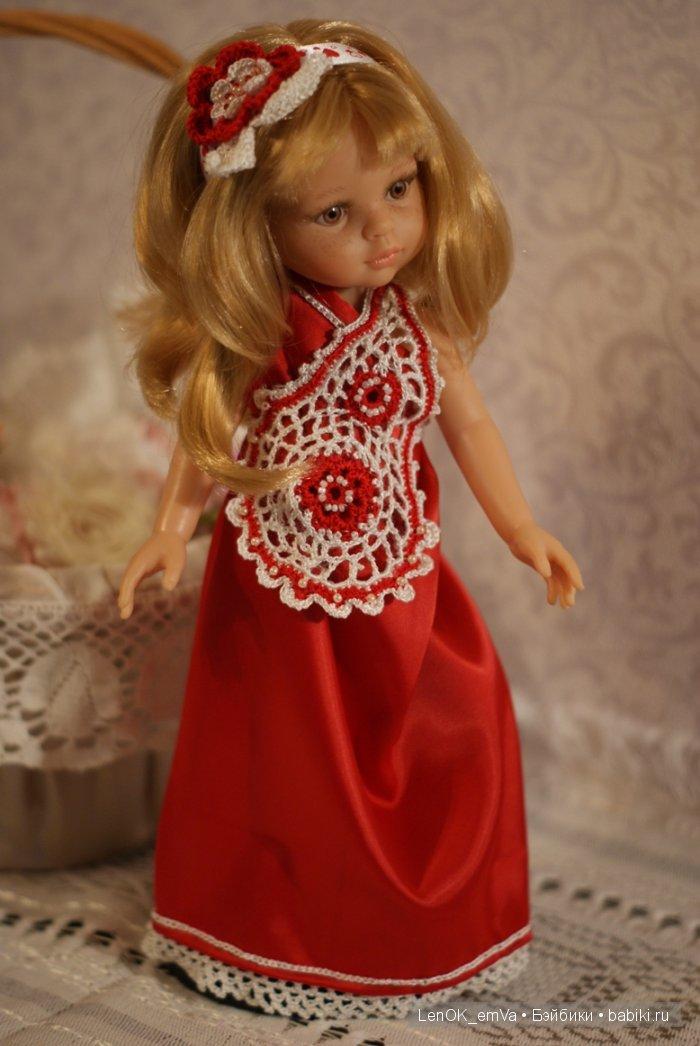"""Красное платье """"ВалентинКа"""""""