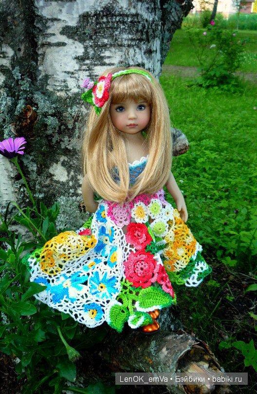 Сочный цветочный наряд (на Кэти от Дианы Эффнер)