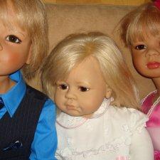 Reinhard Wölfert куклы, это не куклы, это дети