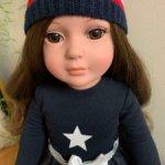 Tonner кукла 46 см брюнетка с карими глазами полностью виниловая