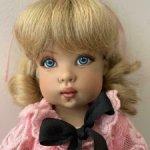 Kish куколка с мэйком неизвестного художника 25 см в аутфите от Тонер