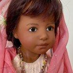 Heidi Plusczok SHANTALA 55 см красавица индианка