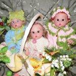 Мои малыши Эльфики из молдика Офелия, рожденные в первый день Весны! Куклы реборн Натальи Фединой, Baby-Zest