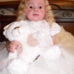 Моя зеленоглазая Лизонька, кукла реборн Натальи Фединой, Baby-Zest