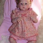 Моя малышка Вероничка, кукла реборн Натальи Фединой, Baby-Zest