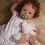Моя малышка Лола, кукла реборн Натальи Фединой, Baby-Zest
