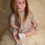 Моя малышка Анечка, кукла реборн Натальи Фединой, Baby-Zest