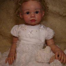 Моя малышка Шанель, кукла реборн Натальи Фединой, Baby-Zest