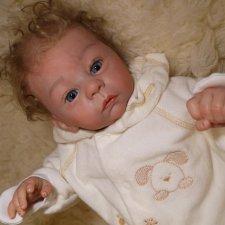 Моя малышка Полюшка, кукла реборн Натальи Фединой, Baby-Zest