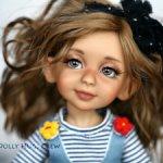 Авторская Бжд кукла Туся от Натальи Натаровой Dollyhugscrew
