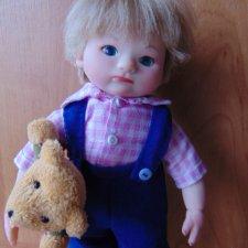 Любимый внук Ванюша. Авторская кукла