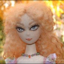 Солея. Текстильная кукла