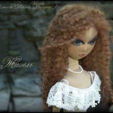 Жизель. Текстильная кукла