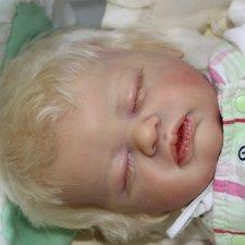 Маленький нежный комочек малышка реборн Тереза