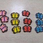 Пуговки бабочка